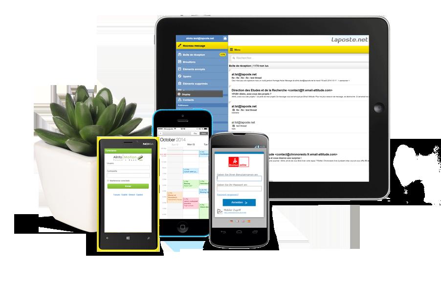 Webmail Mass Market hyper mobile