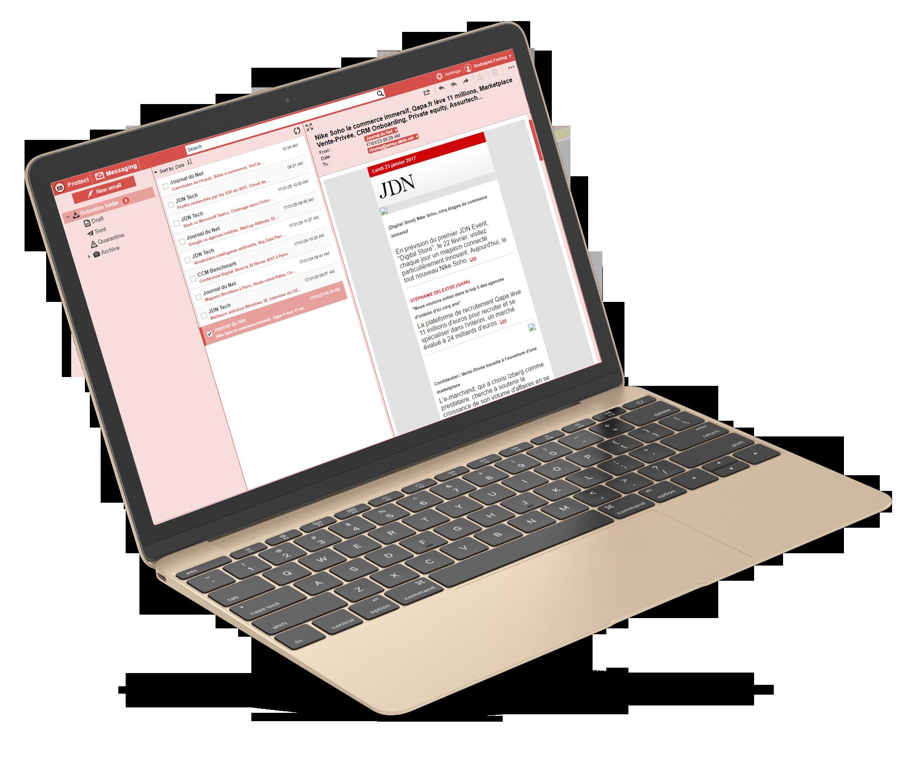 Alinto Protect le relais de messagerie sécurisé