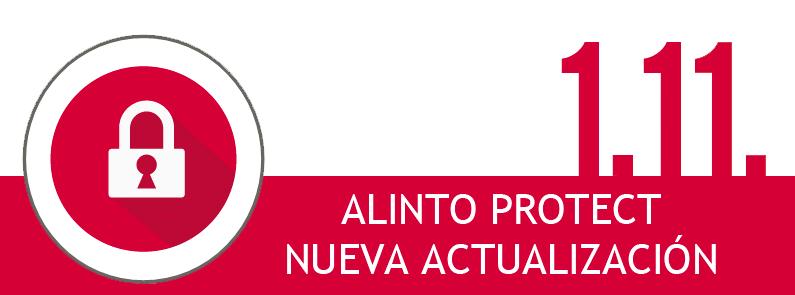 Más novedades sobre Alinto Protect 1.11