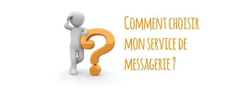 Comment choisir un service de messagerie professionnelle