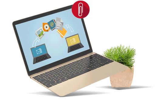 Netmail Detach, gestion des pièces jointes