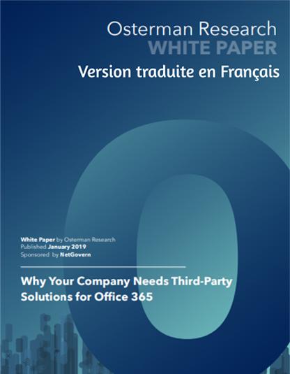 Office 365 Livre blanc