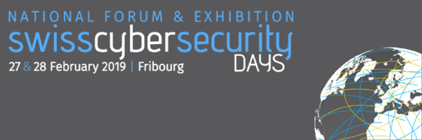 Cleanmail at the Swiss Cybersecurity Days in Fribourg, February 27 and 28, 2019